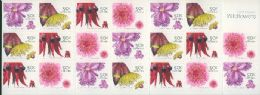 Aus SG2534d Australian Wildflowers (1st series) self-adhesive booklet pane (SB187) of 20